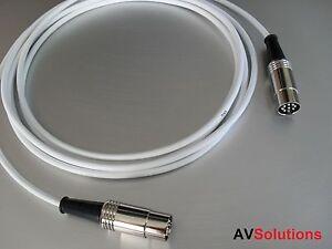 10-M-BeoLab-Speaker-Cable-for-Bang-amp-Olufsen-B-amp-O-PowerLink-Mk2-White-SHQ