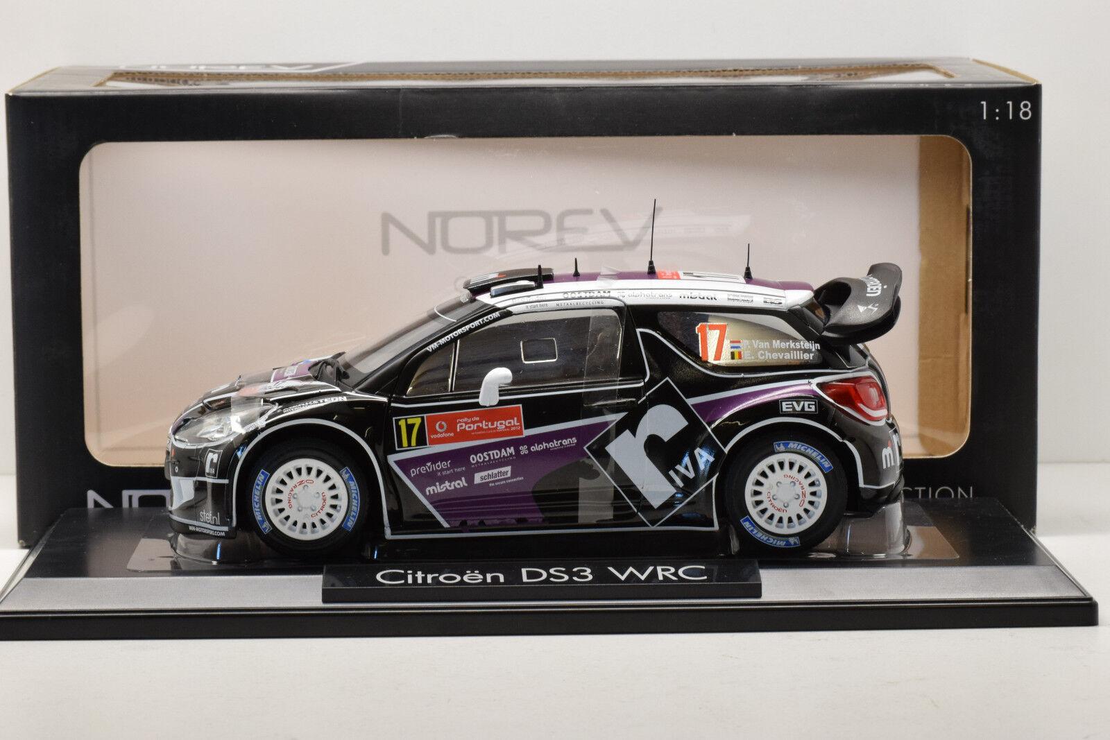 CITROEN DS3 WRC PORTUGAL 2012 NOREV 1 18 NEUVE EN BOITE