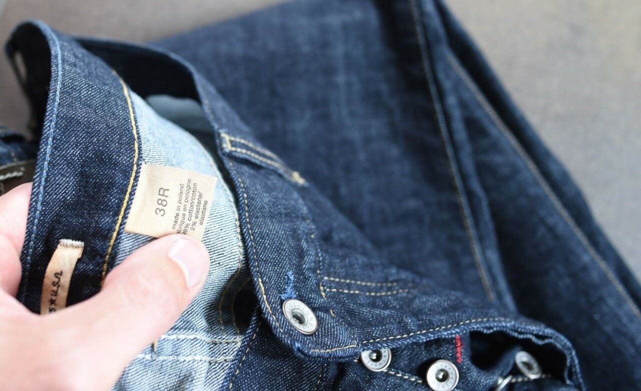 f67254d7 New John Varvatos Wight Jean, Button Fly, Size 38W 34L 1176 Mens -  nrzqxu2209-Jeans