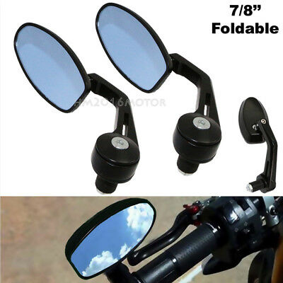 Motorcycle Mirror Pair Left Right Rear View Mirrors for Triumph Street Triple R