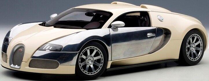 Autoart 70959 - 1 18 Bugatti Veyron eb 16.4 (2009) Edition Centenaire-blanco