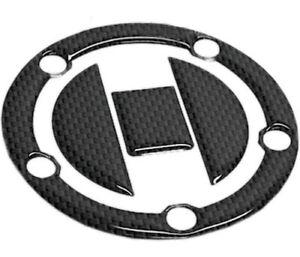 A Pro Adhesive Tank Fuel Petrol Cap Kawasaki Sticker Carbon Look Pad Carbon