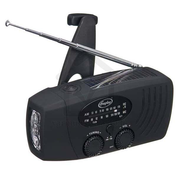 Freeplay Companion WindUp Solar Radio & Torch - GorillaSpoke Free P&P Worldwide