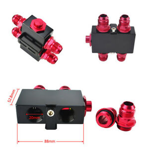 1pcs-Car-AN10-Oil-Filter-Adapter-Thermostatic-Oil-Plate-fitting-New