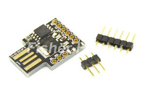 2x Mini Digispark Kickstarter ATTINY85 Micro USB Development Board for Arduino