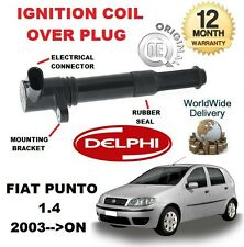FOR FIAT PUNTO 188 1.4 2003-- ON NEW ORGINAL IGNITION COIL OVER PLUG