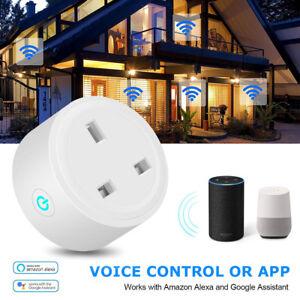 Wireless-Wifi-Smart-Timer-Socket-Plug-Socket-Outlet-For-Amazon-Alexa-Google-HOT