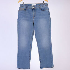 Levi-039-s-512-Perfectly-Slimming-Straight-Leg-Damen-Blau-Jeans-32-27-W32-L27