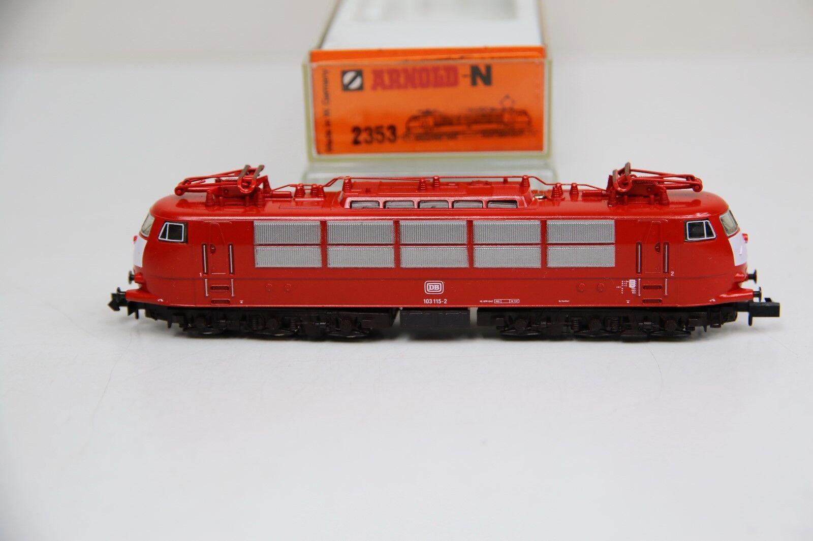 Arnold Spur N 2353 E-Lok BR 103 115-2 der DB in OVP (RB9519)