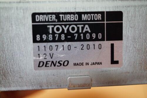 DRIVER TURBO MOTOR PART 89878-71090 DENSO 110710-2010 12V L FOR TOYOTA