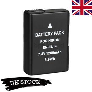 SALE-Battery-for-Nikon-EN-EL14-D3100-D3200-D5100-D5200-P7000-P7100-UK