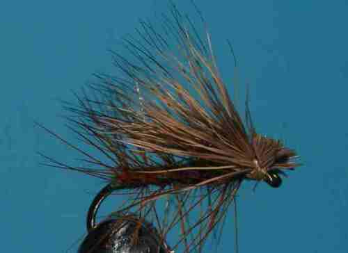 HAND TIED FLIES TROUT FISHING FLY 20  Elk CADDIS Selection 036