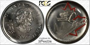 2008-Can-25C-PL66-Alp-Ski-Pop-034-1-034-FIRST-ONLY-PCGS-034-MULE-034-RicksCafeAmerican-com