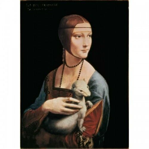 Trefl 20006. Puzzle 500 parts of wood. Lady the ermine