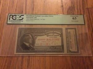 1924-Republican-National-Convention-Ticket-President-Calvin-Coolidge-PCGS-63