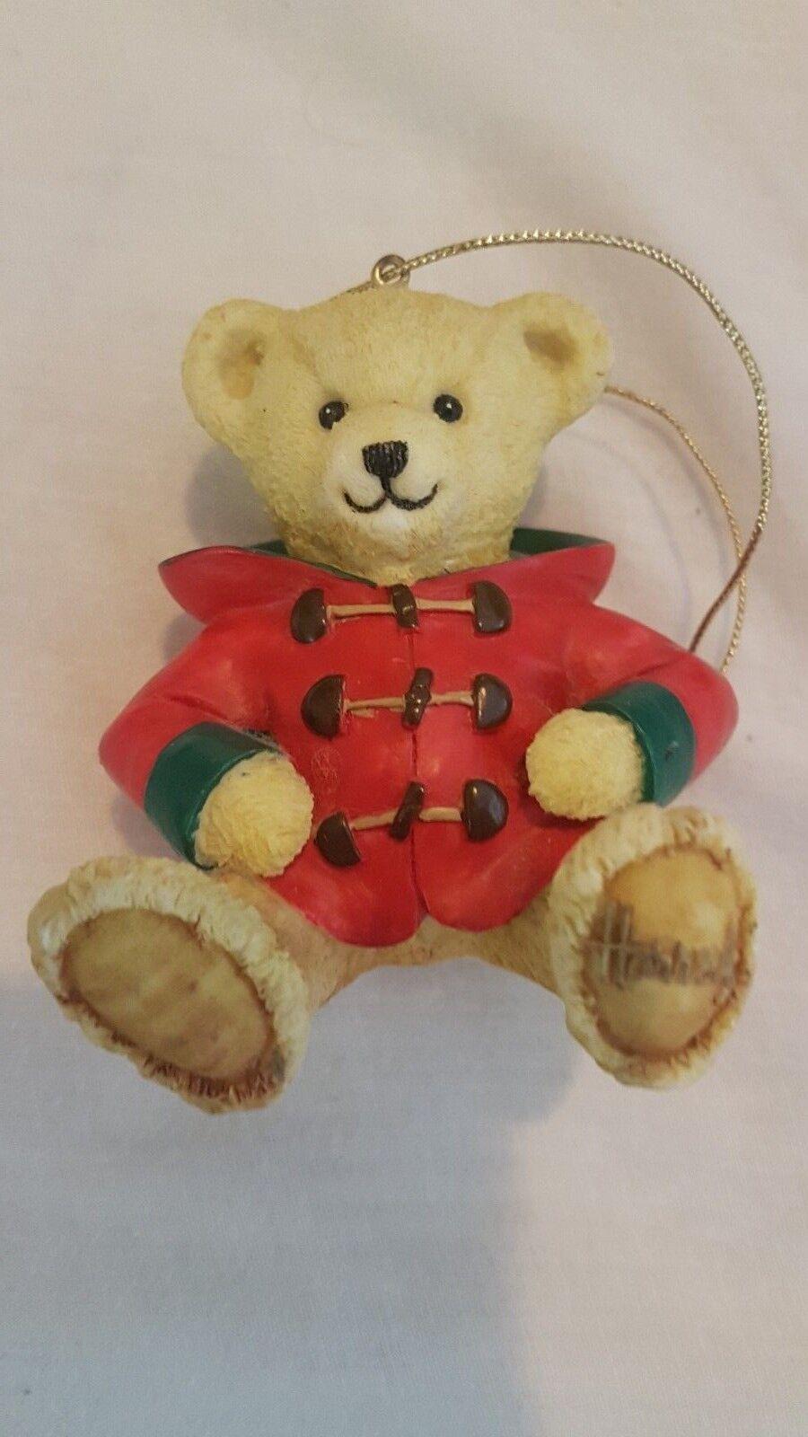 BN Harrods Resin Bear Christmas 2003 - William William William c8e36b