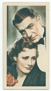 1934-Godfrey-Phillips-Film-Stars-Card-8-Irene-Dunne-and-Clive-Brook