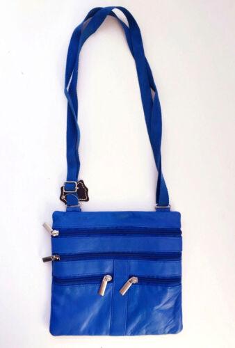Genuine Leather Cross Body Strap Bag Satchel Messenger Purse Women/'s Handbag