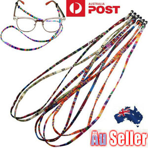 5X-Multicolor-Sunglasses-Neck-Cord-Strap-Eyeglass-Glasses-String-Lanyard-Holder