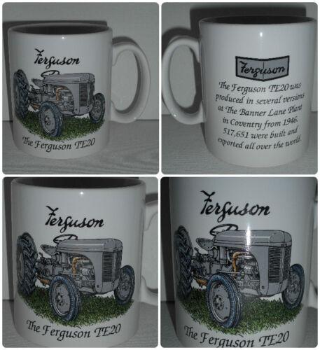 Stoneware Mug BN Boxed Grey Ferguson TE20 Vintage Tractor Gift Mug Gift Mug