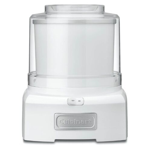 Conair Cuisinart ICE-21 1.5 Quart Frozen Yogurt-Ice Cream Maker (blanc)