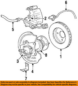image is loading ford-oem-94-04-mustang-rear-brake-rotor-