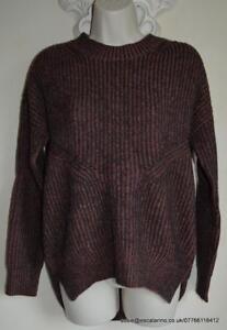 Bnwt £148 Xs Wool Velo black Jumper Terracotta All alpaca Saints quinta Size SvqxnwRP6