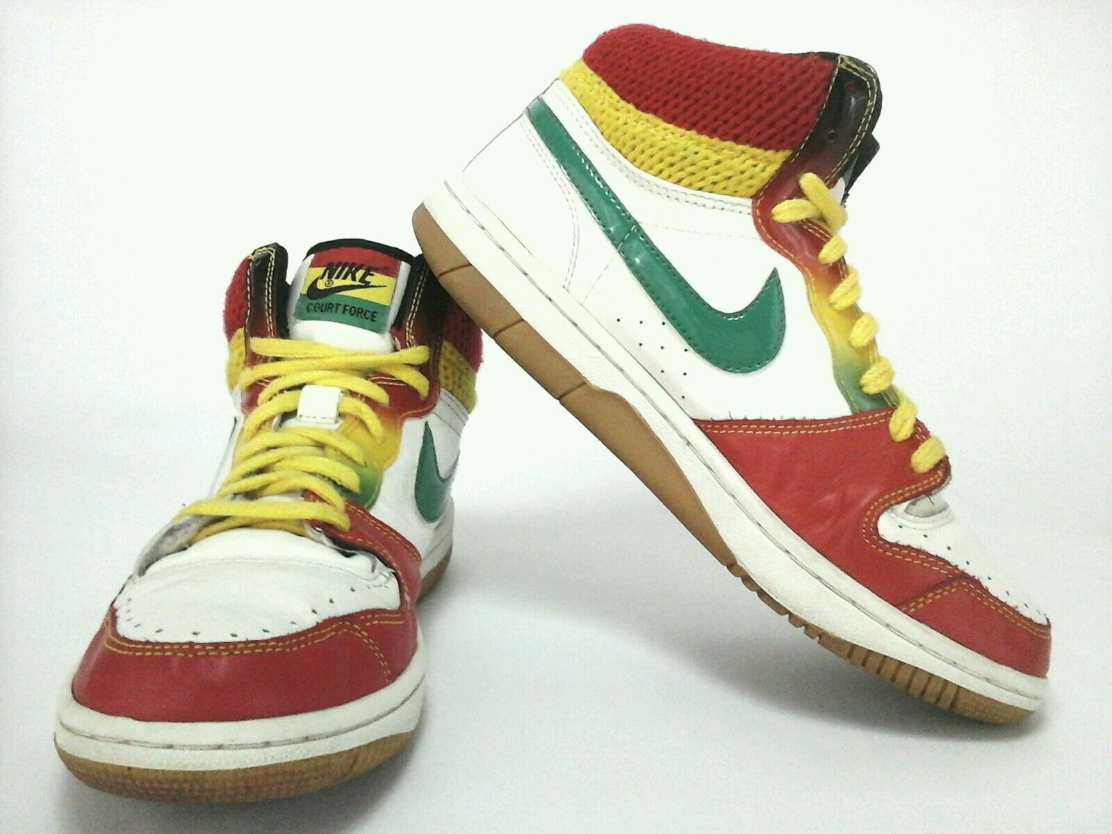Nike Womens Court Force Roots Rock Raggae Mid Top Shoes Sneakers US 9.5
