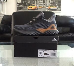 f62f4b03f0643 Adidas AlphaBounce Beyond CG4762 Mens Size 8.5 Grey Carbon Gold ...