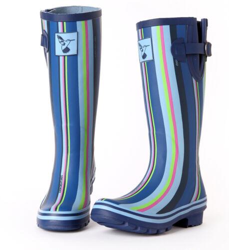 Winter Sale Ladies Evercreatures Tall Meadow Wellies Wellington Boots UK 3-8