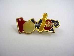 Vintage-Collectible-Pin-BOWLER-Fun-Colorful-Design