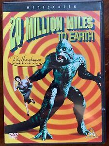 20-Million-Miles-to-Earth-DVD-1957-Ray-Harryhausen-Dinosaur-Cult-Fantasy-Classic