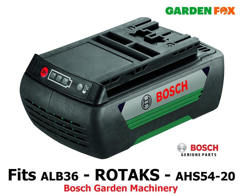 Savers GENUINE Bosch 36V 1.3AH  AHS54-20 AKE30 Battery F016800302 3165140600620