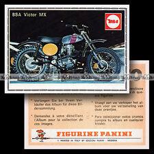 #pnsm75.039 ★ BSA B50 500 VICTOR MX ★ Panini Super Moto 75