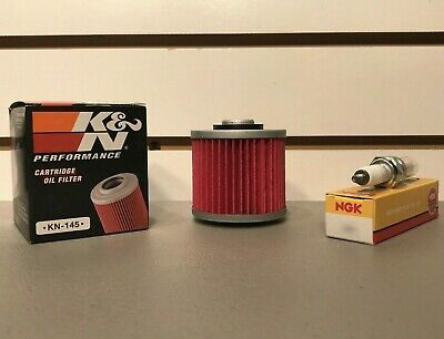 ATV YAMAHA YFM600 Grizzly 600 1998-2001 K/&N KN Air /& Oil Filters Twin Pack