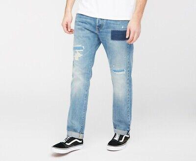 Tireless Jeans Edwin Ed 55 Regular 63 Rainbow Selvage Hiroto Repair Wash W33 L32