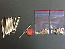 BARRE della scala, (Set di 15 Bacchette & 30 parentesi quadre) DOLLS HOUSE miniature 1.12 TH scala