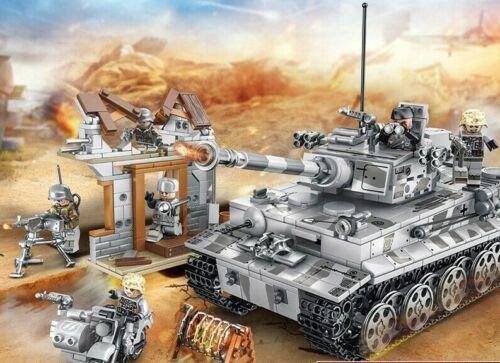 TOY SOLDIERS briques Mini Figures Armée Homme Cadeau Seconde Guerre Mondiale Escadron de la mort Fit LEGO