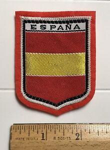 Espana Spain Spanish National Flag Colors Souvenir Red ...