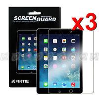 3x Ultra HD LCD Clear Screen Protector/Film Guard For Apple iPad Air 2 (iPad 6)