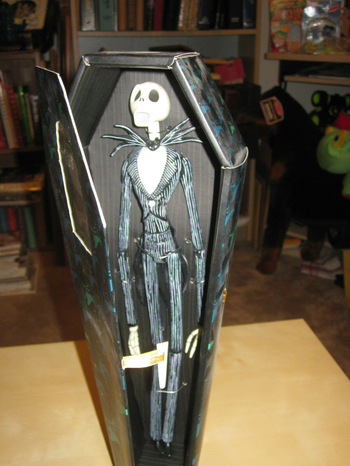 Nightmare Before Christmas 2001 LE 12  Jack Coffin Coffin SDCC Comic Con. NRFB