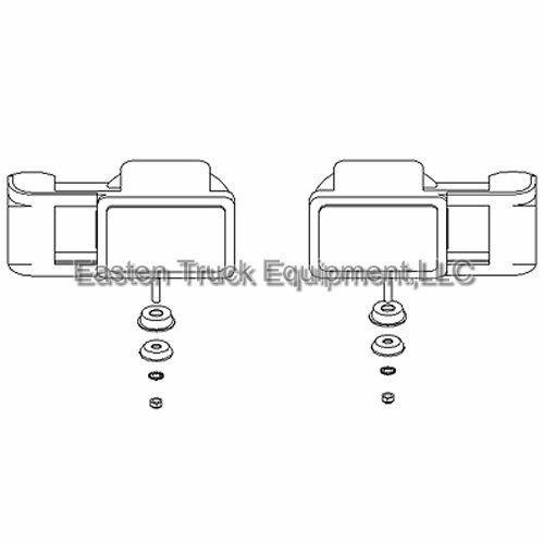 boss plow lights msc03747 arrow snowplow light kit rt3 rt2 ford chevy dodge  for sale online   ebay