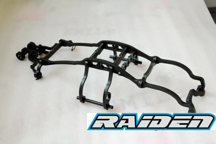 Sconto del 70% Nylon Shell corpo Keel Roll Cage with with with Ruedaie Bar for Traxxas 1 10 E-REVO EREVO  vendite calde