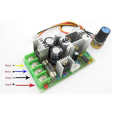 20A Universal DC10-60V PWM HHO RC Motor Speed Regulator Controller Switch Module