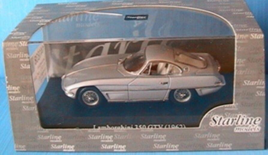 LAMBORGHINI 350 GTV 1962 CLOSED LIGHTS gris METAL STARLINE 1 43 gris grisE