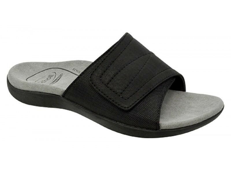 Men's Orthaheel Orthotic Cayenne Sandals - Black