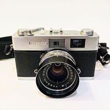 PRISTINE ~ Vintage KONICA AUTO S2 Rangefinder Camera w/ 45mm 1:1.8 Hexanon Lens