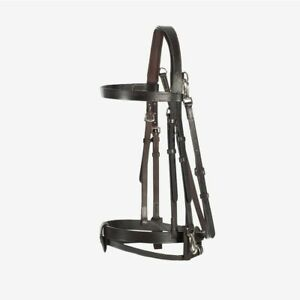 Horze-Supreme-Sparta-Hunter-Bridle-with-Wide-Browband-and-Detachable-Flash