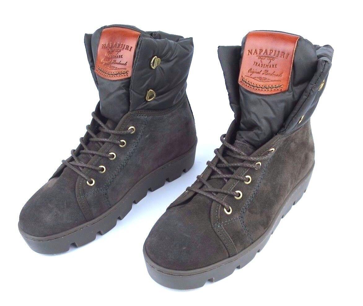 NAPAPIJRI Damen Stiefeletten Stiefel Schuhe Jenny - Gr 37 - Grün - NEU NEW #32