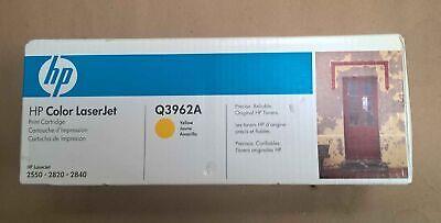 Genuine HP Q3962A Yellow Toner Cartridge *New Sealed*